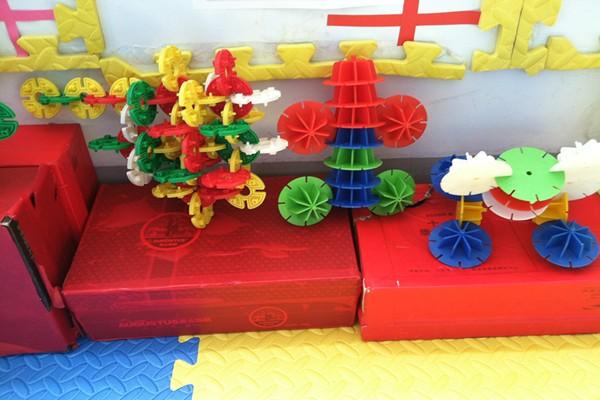 幼儿园建构区玩具